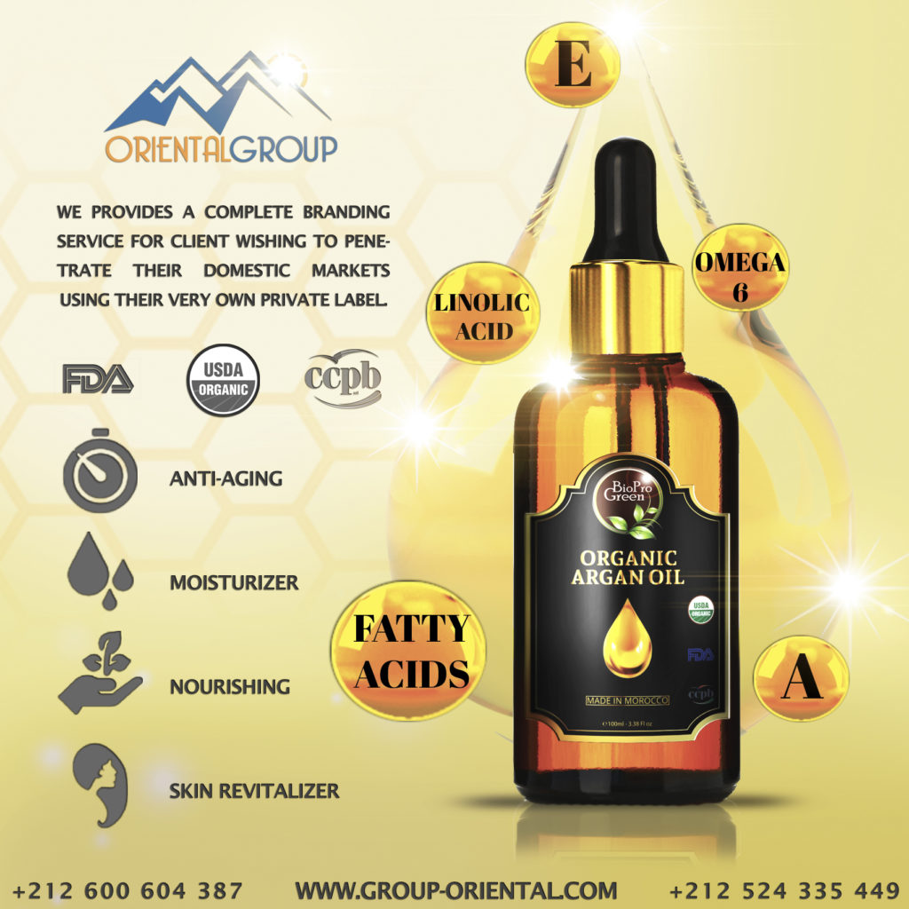 Argan oil with benefits