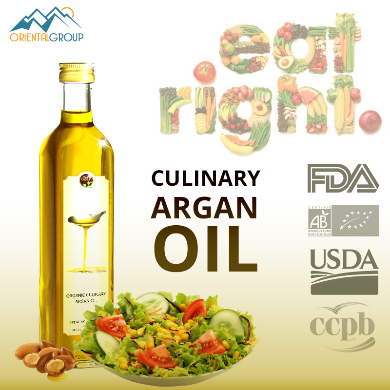 culinary argan oil - toasted oil