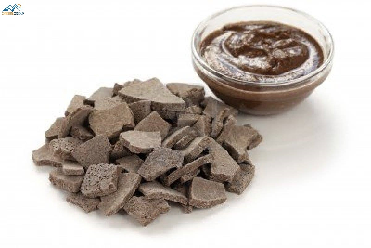 Rhassoul or ghassoul is Natural and organic cosmetic clay Morocco