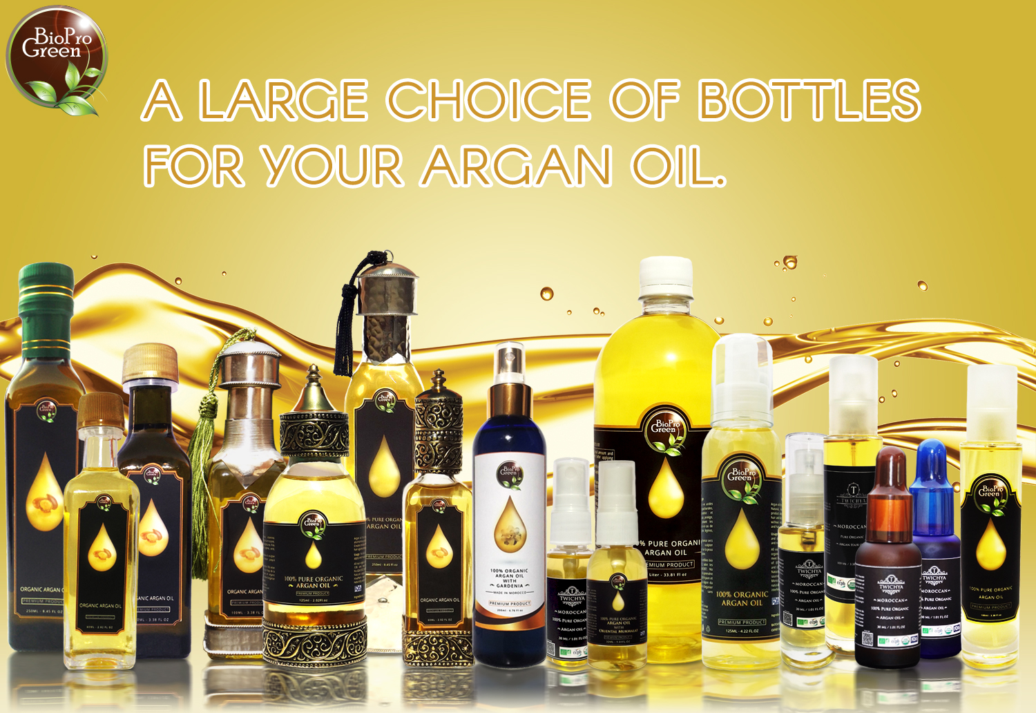 Moroccan Argan oil private Labeling