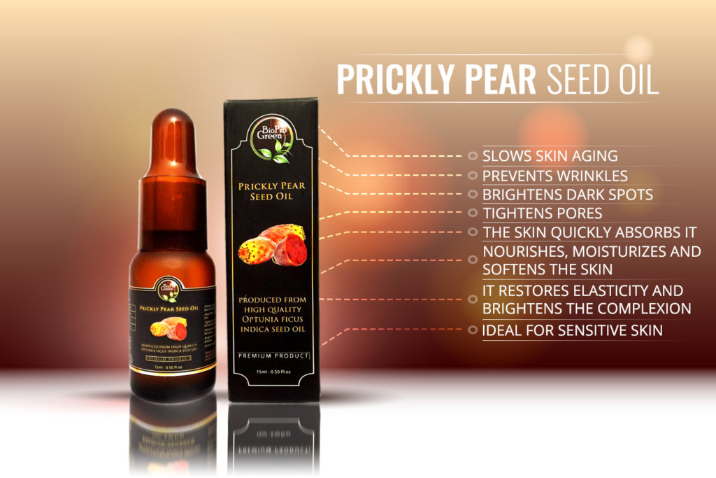 benefit of Prickly pear seed oil