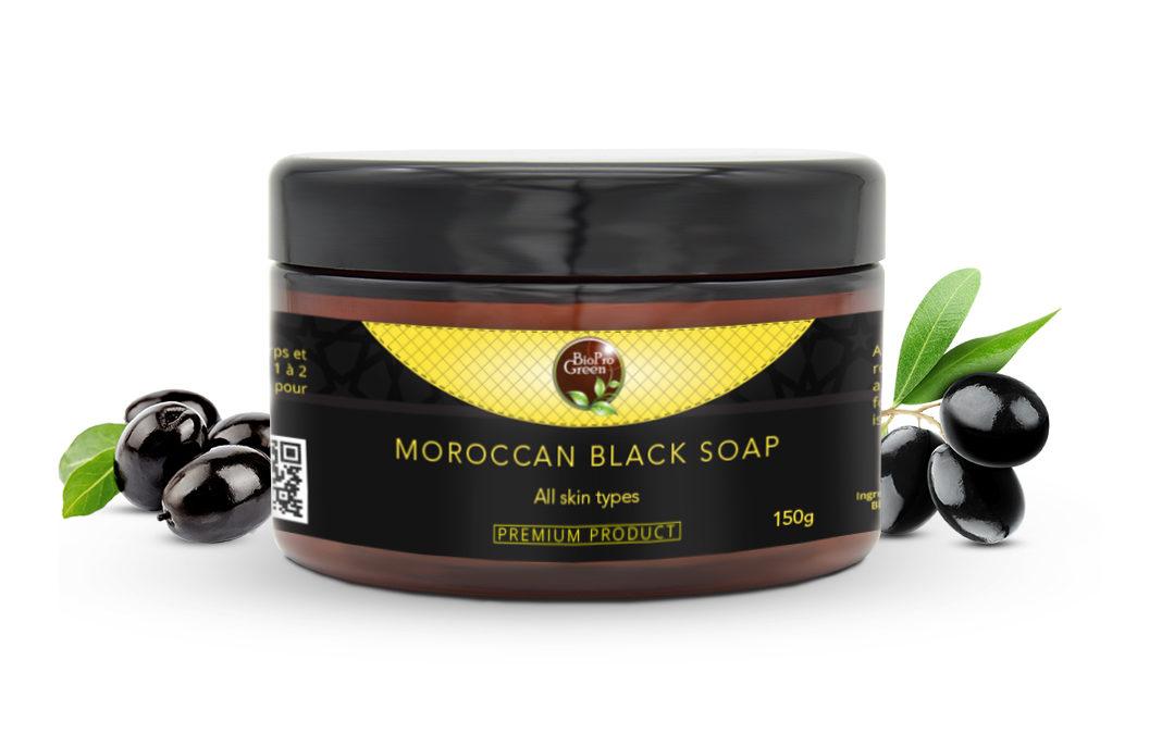 Natural Moroccan Black SOAP