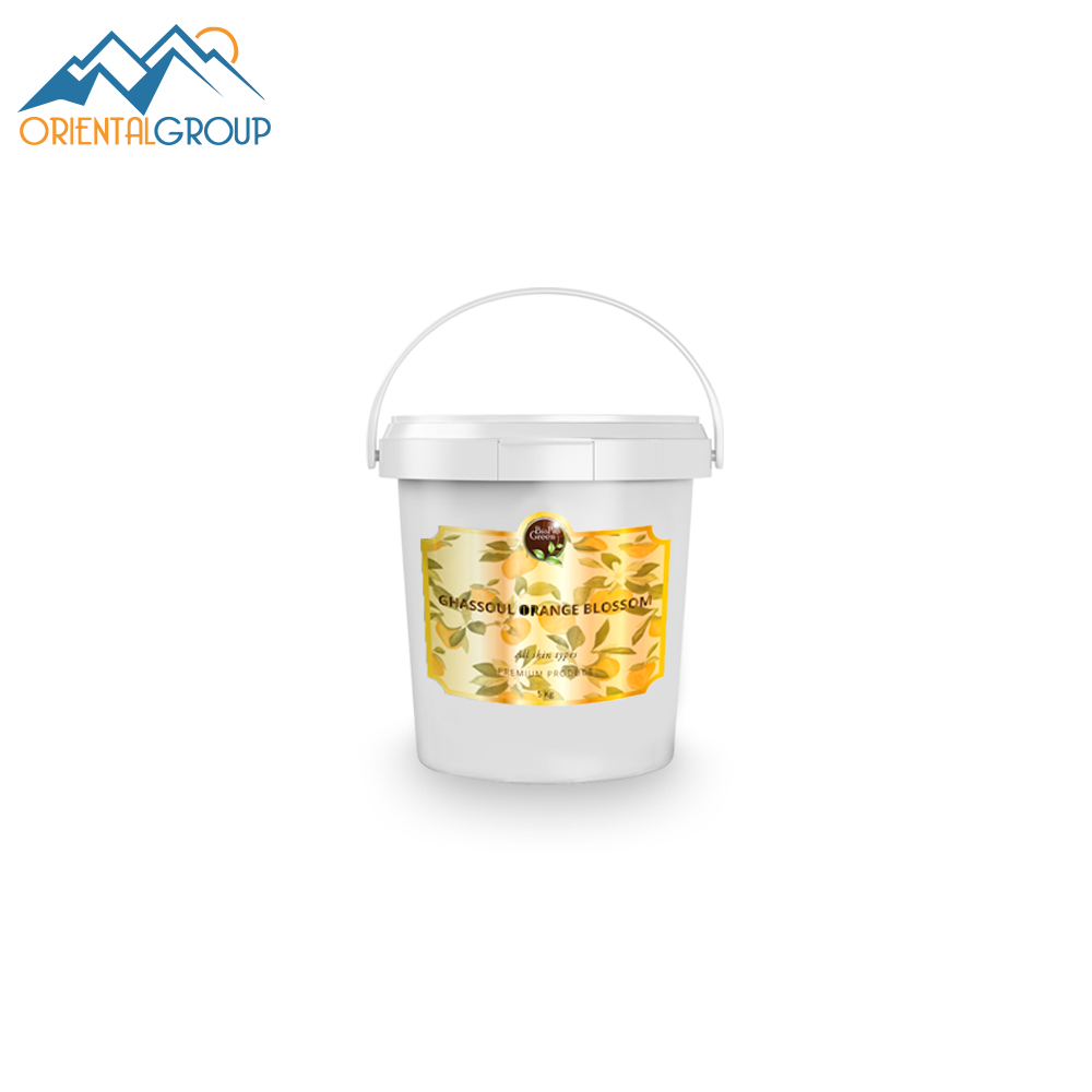orange oil pail