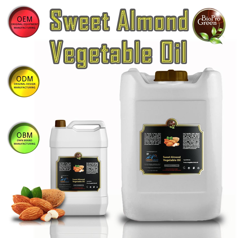 almond in big bottle